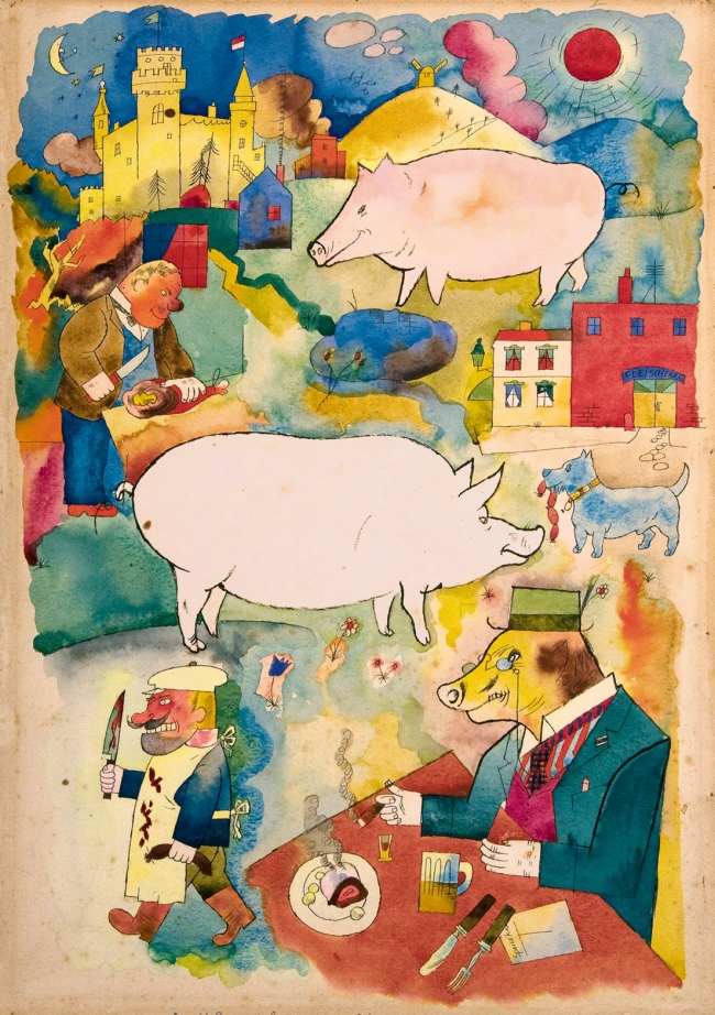 George Grosz exhibition in London