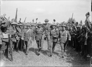 Staffordshire Regiment at Cassel