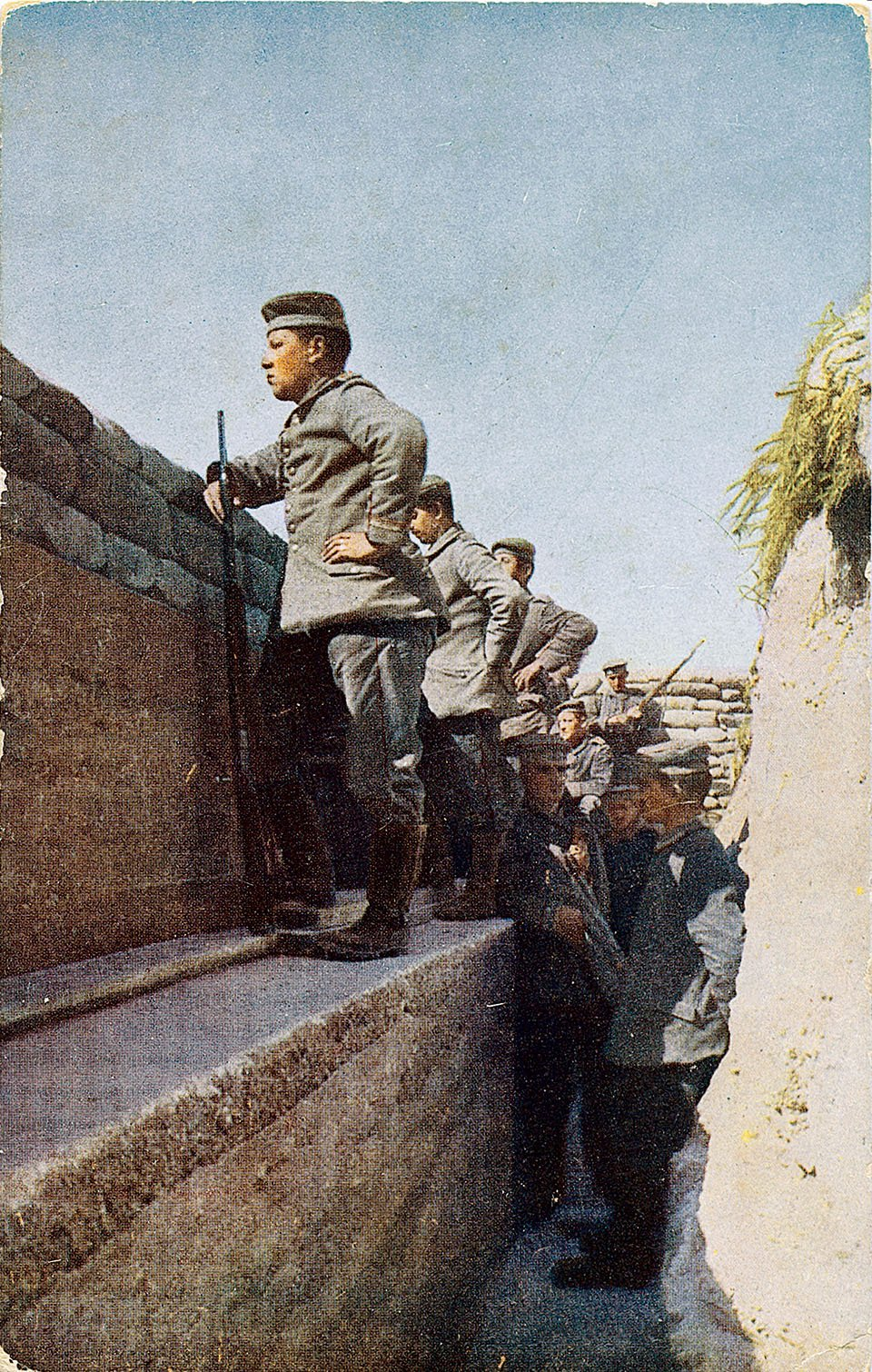 Rare colour photographs show realities of WW1 | First ...