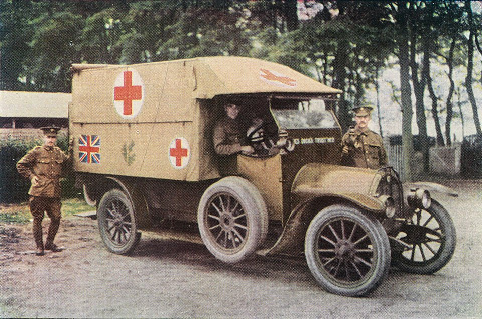 Rare colour photographs show realities of WW1 | First World War ...