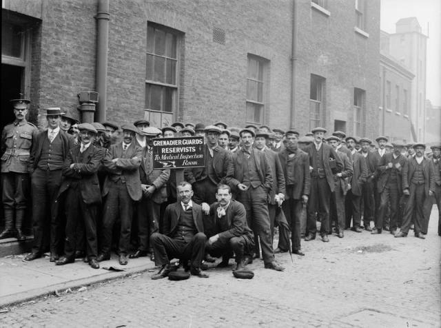 Reservists 1914